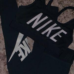 Selling nike legging and sport bra